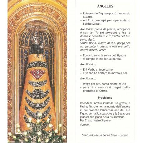 Immagine con preghiera Angelus