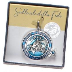 Medaglia Commemorativa ''Giubileo Lauretano'' Met. Ox smalto