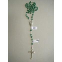 Corona del Rosario con grani in ametista